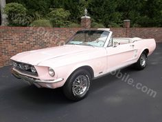 1967 Ford Mustang in Playboy Pink