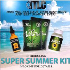 The new summer slim pack from TLC has a combination of everything you need to look & feel your best.   It comes with 10 packages of Iaso Tea (lose 5 pounds in 5 days), 2 bottles of Resolution drops (lose 15-40 pounds in 1 month) and 2 bottles of NRG gives you hella energy and curves your appetite.   Get in shape with these organic products this summer. Inbox me when you are ready to get summertime fine with Total Life Changes.  http://www.ThomasTeaParty.com IBO# 5173331