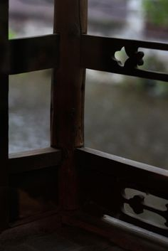 through the window , Gion shirakawa , Kyoto , Japanese nostalgic