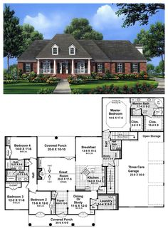 Best ideas about A Floor Plan Single Story House Floor Plans and