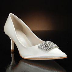 IVANKA TRUMP KAYDENA Wedding Shoes and KAYDENA Dyeable Bridal Shoes GOLD