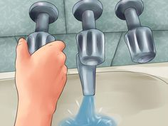 How to Change a Bathtub Faucet. Do you have an old bathtub faucet that leaks, doesn't work right, or is just plain ugly? Is your bathtub faucet spout no longer diverting water up to your shower head? Replacing parts of your bathtub faucet. Shower Fixtures, Shower Faucet, Bathroom Faucets, Concrete Bathroom, Shower Tiles, Bathroom Plumbing, Fix Leaky Faucet, Faucet Repair, Bathtub Remodel