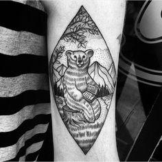 #armtattoo by @ankalavrivtattoo /// #⃣#Equilattera #Tattoo #Tattoos #Tat #Tatuaje #tattooed #Tattooartist #Tattooart #tattoolife #tattooflash #tattoodesign #tattooist #tattooer #tatted #tatt #Miami #Mia #Venezuela #awesome #love #ink  #art #linework #dotwork #blackwork #blackink #mandala #bear #geometrictattoo . Posted by @WazLottus