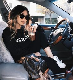 """sometimes you just need a sweater that says """"not today"""" to wear for the rest of your life {sweater: @sheinofficial}"""