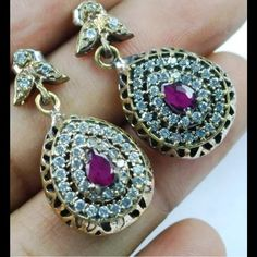 Handmade,imported, sterling silverCRAZY SALE price will go back to $179 Jewelry Earrings
