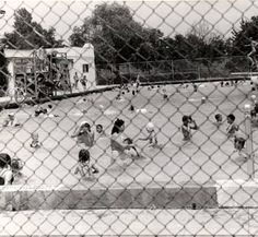 Reseda Swimming Pool, 1947. The Reseda pool was originally built in 1930. Following WWII, Reseda emerged as one of the first major suburbs of the San Fernando Valley. San Fernando Vally History Digital Library.