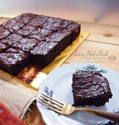 Resepi Brownies Kedut, Brownies Kedut, Resepi Brownies, Chewy fudge brownies, Tips Brownies