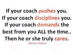 Le rôle d'un entraîneur