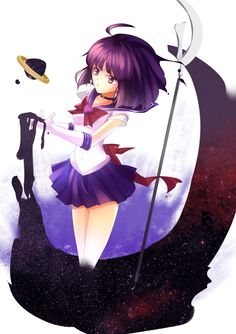 Sailor Saturn セーラーサターン | しばねこ [pixiv]
