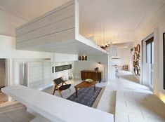 excellent use of space... and love white with a splash of color. well done.