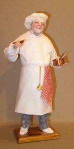 Cuisinier 2. Lise Berger. 30 centimètres.