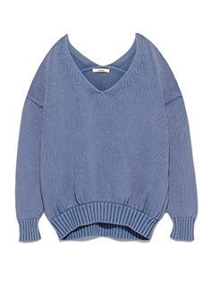 【セーター】フレイ アイディーFRAY I.D ガータールーズニット - https://ladysfashion.click/items/120022
