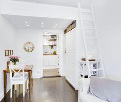 Vicky's Home: El apartamento más pequeño 17m ²/ The smallest apartment 17m ²