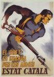 Spanish Civil War Poster antifascista