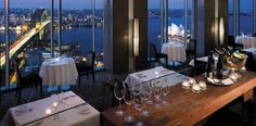 Altitude Restaurant, Sydney, Australia: Perched above Sydney's spectacular harbour at the top of the Shangri-La Hotel, Altitude Restaurant is among the city's most iconic dining experiences.
