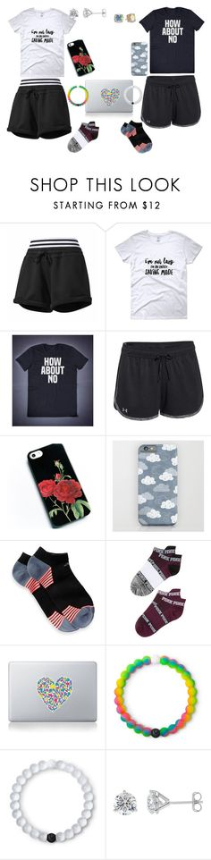 """""""Today I don't feel like doing anything"""" by blackjanija on Polyvore featuring adidas, Under Armour, Victoria's Secret, Vinyl Revolution, Lokai and Kate Spade"""