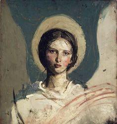 Abbott Handerson Thayer   (American artist, 1849–1921)    Always with you...