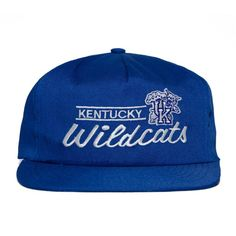 Annco Snapback Script Hat - Kentucky Wildcats - Blue