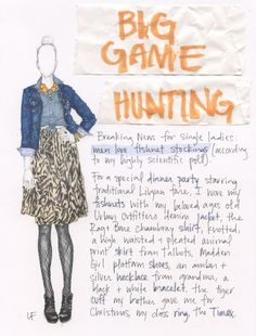 this is such an outfit I would wear // but I am loving the illustration more