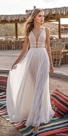 wedding dress flowy 15 Amazing Destination Wedding Dresses For Yous 24 Amazing Destination Wedding Dresses For You destination wedding dresses a line deep v neckline for beach flowy asafdadush Wedding Dress Low Back, Wedding Dress Chiffon, Wedding Gowns, Wedding Dress Beach, Chic Wedding, Soft Wedding Dresses, Lace Wedding, Low Back Dresses, Wedding Shoes