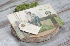 Invitación de bodas 'postal' de Projects Party Studio #invitaciondebodas #weddinginvitations #tendenciasdebodas