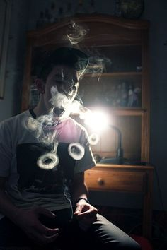 how to make smoke rings with hookah