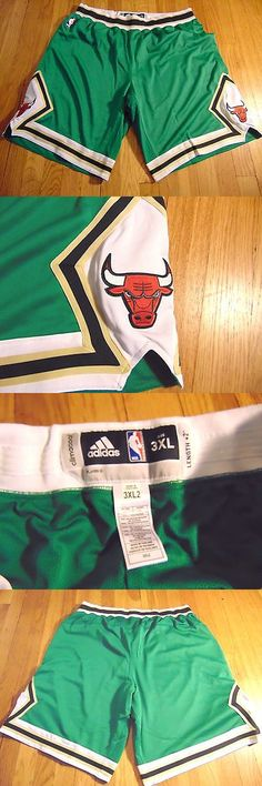 Basketball-NBA 24442: Adidas Nba Authentic Chicago Bulls St. Patrick S Day Green Game Shorts Size 3Xl -> BUY IT NOW ONLY: $149.99 on eBay!