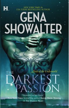 The cover for THE DARKEST PASSION, a Lords of the Underworld novel.