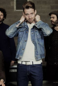 Ricky Wilson, the lead singer of the Kaiser Chiefs, will replace The Script's Danny O'Donoghue as a coach on The Voice next year. Ricky Wilson, Julian Wilson, Kaiser Chiefs, Music X, Danny O'donoghue, Jack Johnson, Denim Jacket Men, Pop Bands, Kylie Minogue