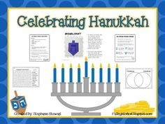 Hanukkah Mini Unit Freebie-!!