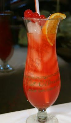 Hurricane recipe, I will be making these and utilizing all of my Planet Hollywood and Hard Rock Cafe hurricane glasses!