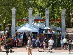 Travel | Oregon | Attractions | Things To Do | Hidden Gems | Unique | Farmers Market | Craft | Outdoor | City | Saturday Market | Portland