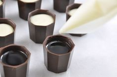 Liquor filled chocolates.   My old liquor store used to carry these...I miss them so..
