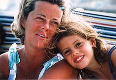 Kelly Corrigan with her mother, Mary.