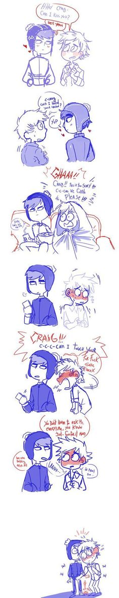 #wattpad # This will be mainly a collection of creek photos and maybe some comics. For those who enjoy the cuteness that is Craig and Tweek, but don't feel like reading a full story at the moment. Enjoy! All credit goes to the artists that art is posted.