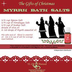 Young Living Essential Oils: Myrrh Bath Salts