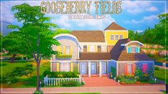 """Gooseberry Fields - """"a colourful traditional family home"""" requested by @animeley. This house is fully furnished & pretty huge… there's space for like 4-5 kids so go mad ;) """"Lot size: 30x20 Bed & Bath:..."""