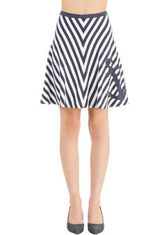 New Arrivals - Nautical or Nice Skirt