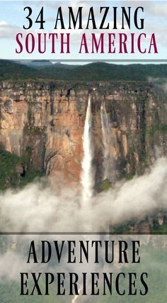 Amazing South America Adventure Experiences You Must Have. When people think of South America adventure, they think of a destination in rawness, vast wilderness and spectacular scenery. The amount of outdoor adventure available on this continent could keep a traveler busy for months on end and still leave you begging for more in cultural and historical adventure. Click to read more at http://www.divergenttravelers.com/south-america-adventure-experiences/