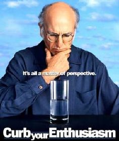 There are definitely moments in my life which are Larry David moments.