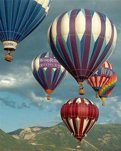 Ballooning in Eden, Utah Air Balloon Rides, Hot Air Balloon, Balloon Pictures, Balloon Flights, Vintage Neon Signs, Air Ballon, Air Ride, Jolie Photo, Pretty Pictures