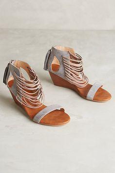 I WANT THESE!!!!!! Matiko Bryn Wedges #anthropologie