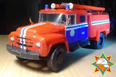 AC-30(130)-63A Fire Engine Free Vehicle Paper Model Download