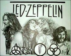 Led Zeppelin artwork ♥