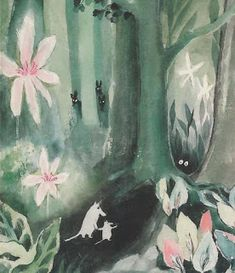 The first ever Moomin book written by Tove Jansson. Vintage children's illustration Troll, Moomin Wallpaper, Les Moomins, Moomin Books, Tove Jansson, Beautiful Book Covers, Cartoon Shows, Cartoon Characters, Vintage Children's Books
