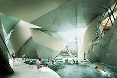 Architecture Art and Design Inspired by Glaciers