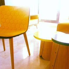 Sancal tea chair and tab table.