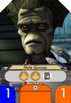 Nute Gunray is the leader of the trade federation.