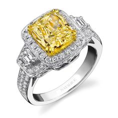 Details about 1.42 Ct. Natural Fancy Yellow Canary Radiant Cut ...