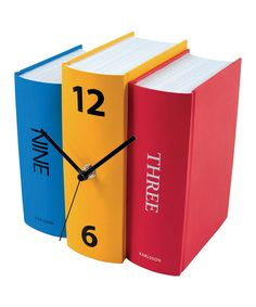 Book Clock for your table.